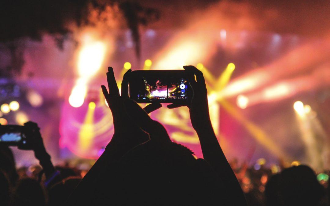 Filmowanie dronem eventów i wydarzeń